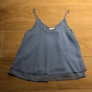 MINE - Light Blue Tank Top - M - Made in USA